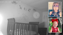 Mum's 'creepy' discovery on daughter's baby monitor