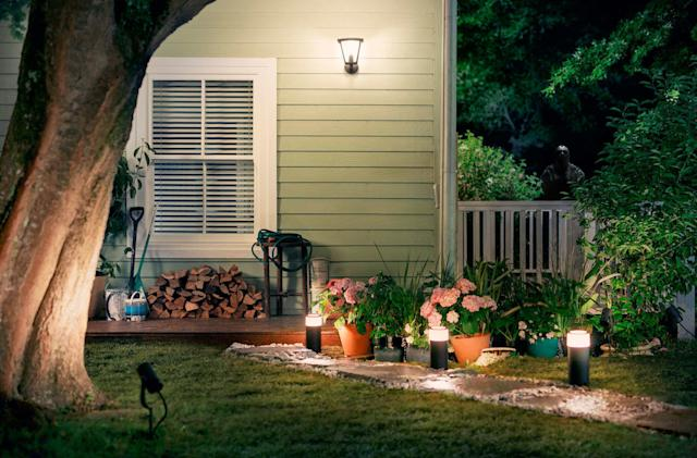 Philips seems to be working on more Hue outdoor lights