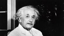 Einstein's theory of happy living emerges in Tokyo note