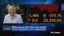 Goldman's Solomon on business strategy