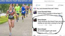 Runner slams commenter who said her shorts invite rape