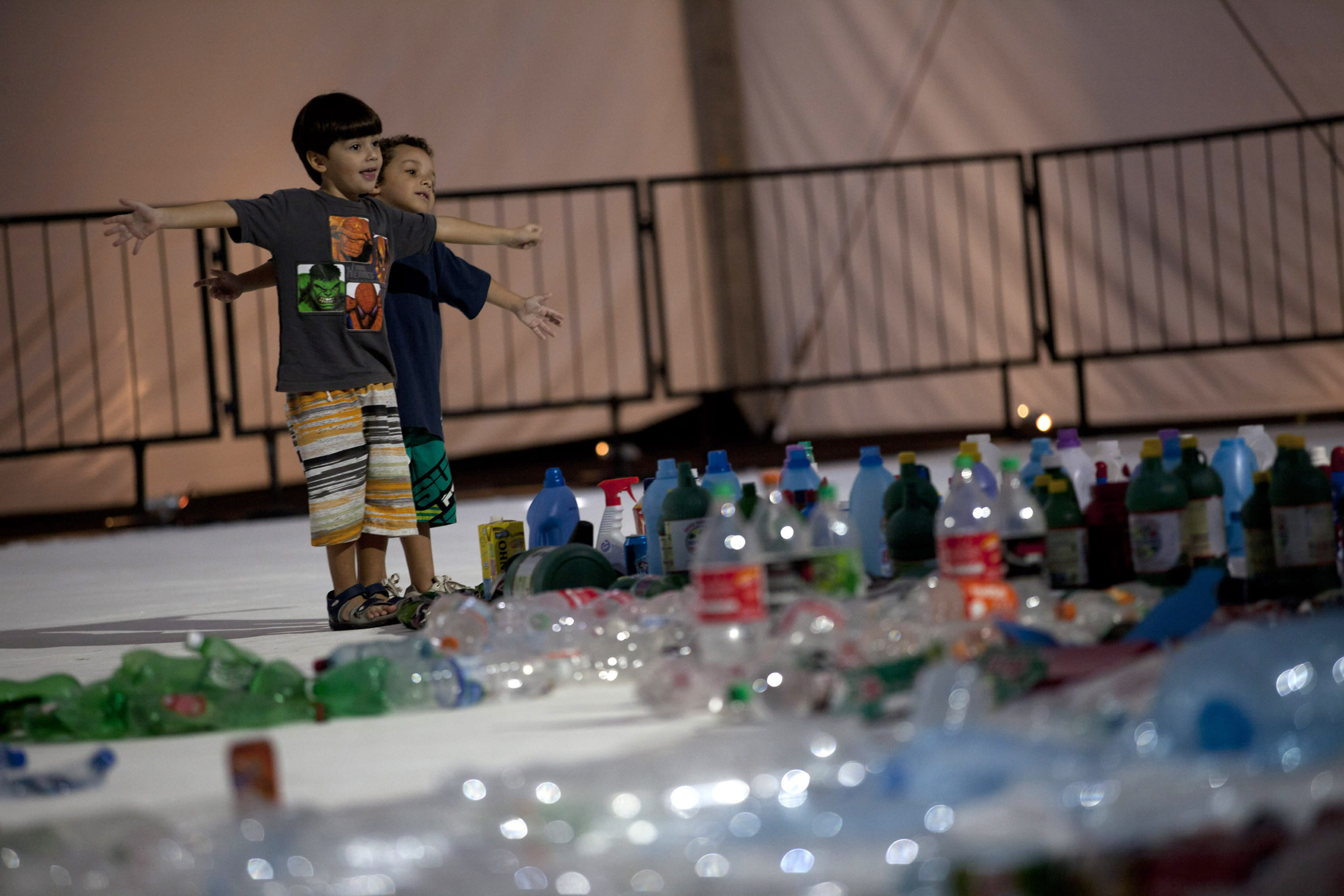 Rio's garbage made into art