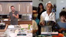 Tous en cuisine en direct avec Cyril Lignac: Booder, plébiscité par les internautes, relève un détail intrigant chez le chef
