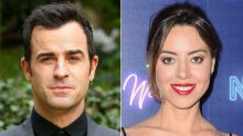 Justin Theroux spotted with Aubrey Plaza in NYC after split from Jennifer Aniston