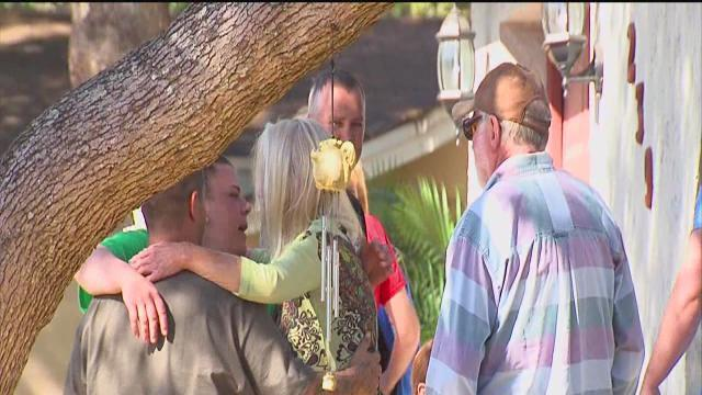 Wake, burial at sinkhole site but not way family wanted it