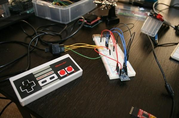 ProtoDojo turns NES controller into flash drive with Konami-level security