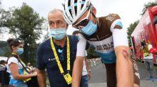 Tour de France - Vincent Lavenu: «pas d'atteintes cérébrales» pour Romain Bardet après sa commotion