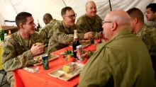 Thanksgiving in Mosul: US Troops Enjoy Turkey Near ISIS Stronghold
