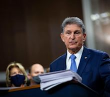 Joe Manchin voted against including a $15 minimum wage provision in the relief bill, even though 250,000 West Virginians would benefit from the increase