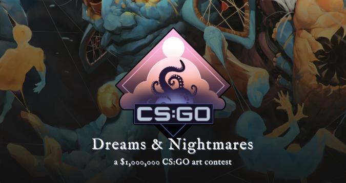 CS:GO Dreams & Nightmares weapon skin contest