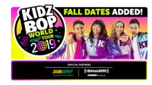"#1 Music Brand For Kids, KIDZ BOP, And Live Nation Expand The ""KIDZ BOP World Tour"" In The US, Canada, And UK"