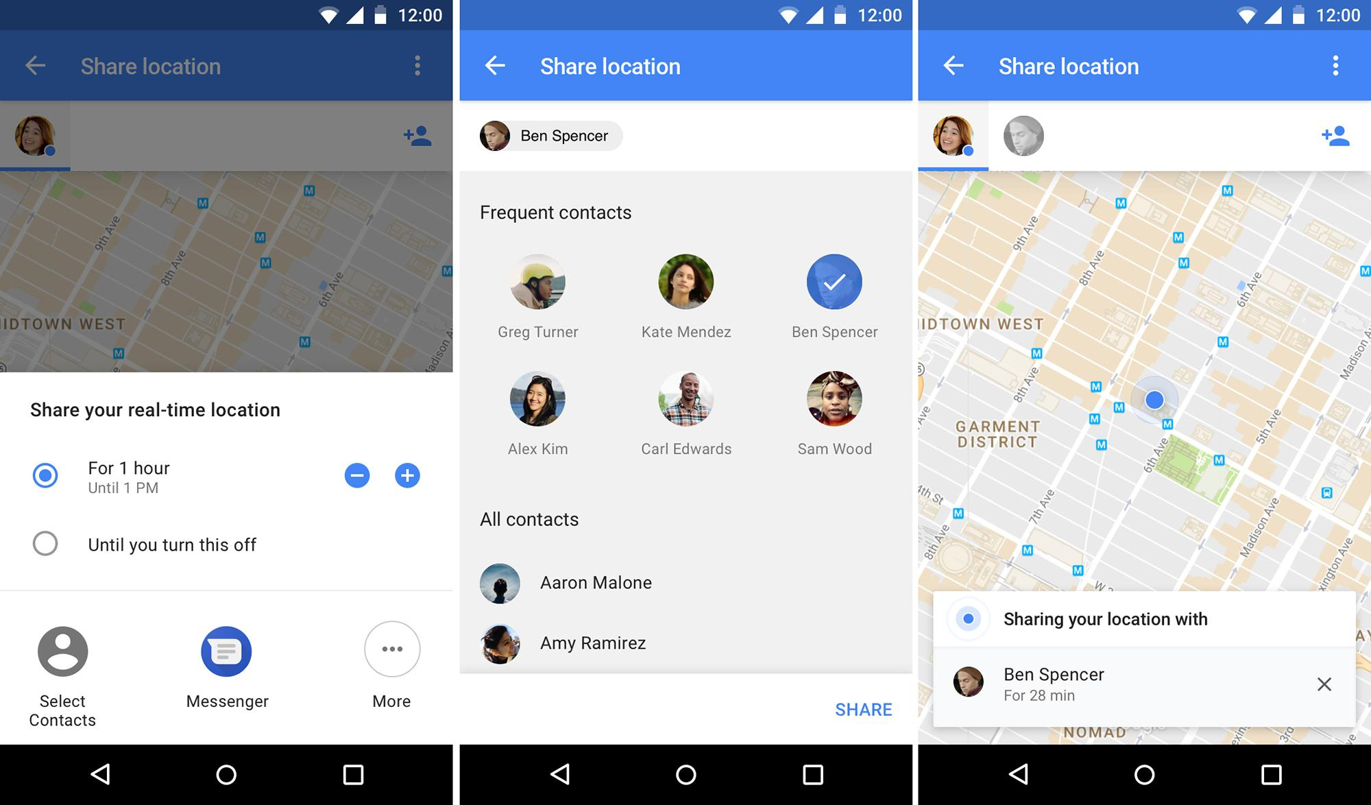Google Maps Location Sharing Feature Is One You Might Actually