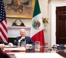 Biden calls Mexican president an 'equal' partner amid surge in border crossings