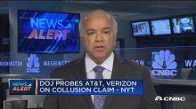 DOJ probes AT&T-Verizon on potential collusion
