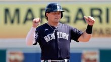 Yankees' Luke Voit transferred from Triple-A to Double-A during rehab assignment