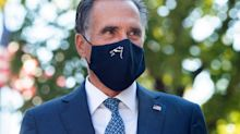 Mitt Romney Says He Didn't Vote For Donald Trump