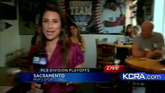 Sacramento A's fans crowd local sports bars