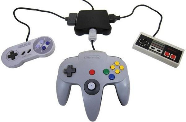 Komodo's Retro Adapter brings your dusty old gamepads to your dusty new Wii