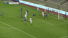 Foot - L. nations : Les buts de Chypre-Montenegro