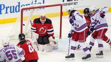 Shesterkin gets first NHL shutout, Rangers beat Devils 3-0