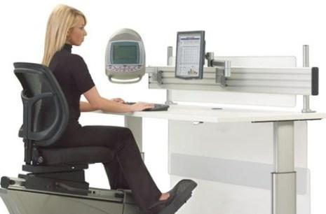 The Elliptical Machine Office Desk: putting the 'commute' back in 'telecommuting'
