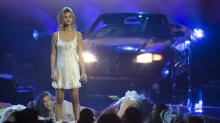 Selena Gomez Performs at the American Music Awards