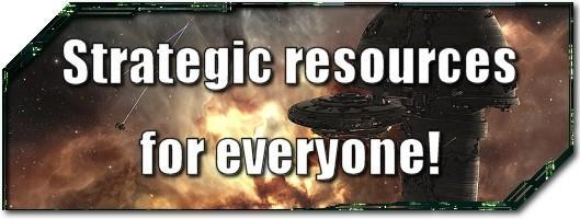 EVE Evolved: Strategic resources for everyone!