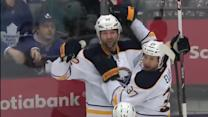 Sabres tally twice in 52 seconds