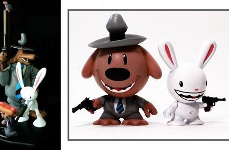 Sam & Max figures are unusually silent