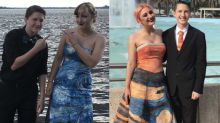 Artistic Prom Dress That Student Painted on Her Own Will Make You 'Scream'