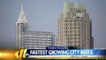 Forbes ranks Raleigh nation's fastest growing