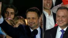 Présidentielle en Pologne: le conservateur Duda donné légèrement en tête