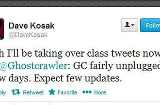 Ghostcrawler and Dave Kosak switch jobs for an evening on Twitter