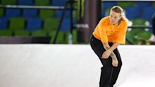 Quarantined Olympic skateboarder Candy Jacobs calls lack of fresh air 'inhuman'