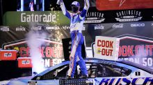 Kevin Harvick wins at Darlington after Martin Truex Jr. and Chase Elliott hit the wall