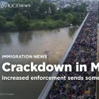 Mexico's efforts to crack down on migrants sends some heading south