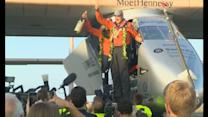 Solar flight: Pilot used yoga to get through journey