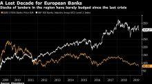 Deutsche Bank's Fresh Low Underscores European Banking's Decline