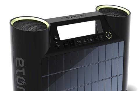 Rukus solar-powered Bluetooth sound system thinks you should rock more in direct sunlight