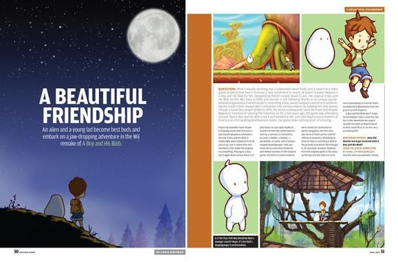 A Boy and His Blob detailed in latest Nintendo Power