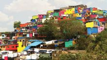 The colorful transformation of Asalpha village by Chal Rang De.