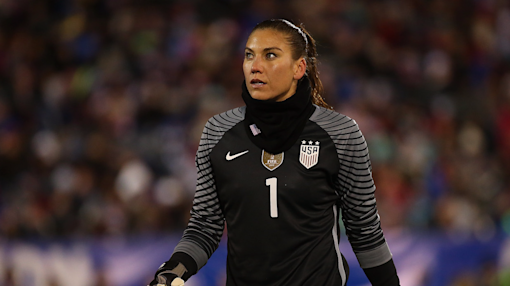 Hope Solo suspended 6 months for explosive comments following US loss to Sweden in the Olympics