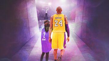 Heavy hearts gather to celebrate Kobe and Gigi