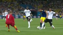 Did Germany get away with a 'clear penalty' against Sweden?