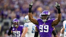 When will the Vikings have to make a decision with Danielle Hunter?
