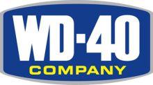 WD-40 Company Declares Regular Quarterly Dividend