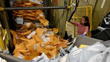 Rats reported feeding on packages of rotted fruit and meat as postmaster general's cutbacks unleash chaos at California's mail centers