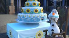 That's Not Cake! Watch What Olaf's Really Eating in 'Frozen Fever'