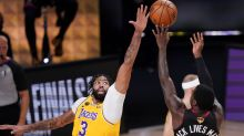 Anthony Davis leads by example as Lakers move 1 win from title