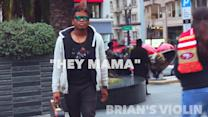 """Electric Violin Remix of """"Hey Mama"""" Music Video"""